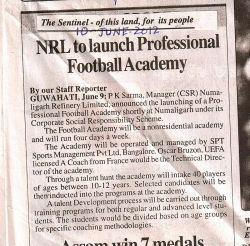 nrl-football-acd-sentinel-assam-10-jan-2012